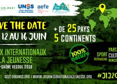 JEUX INTERNATIONAUX DE LA JEUNESSE 2018