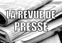 Revue de Presse – Septembre 2020