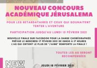 NOUVEAU CONCOURS ARTISTIQUE « JERUSALEMA »